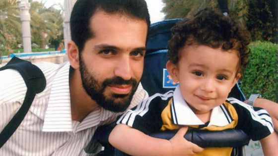 Mostafa Ahmadi Roshan with his son. Roshan is the fifth Iranian nuclear scientist whose murder is being linked to Israel.