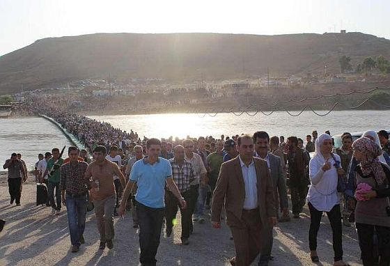 One third of Syrian population displaced by war