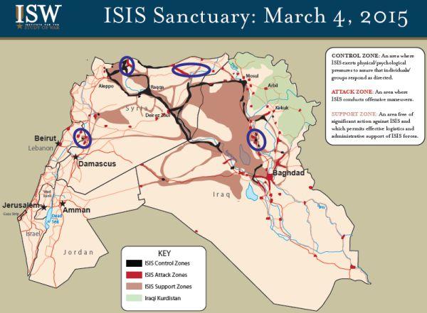 ISIS-territory