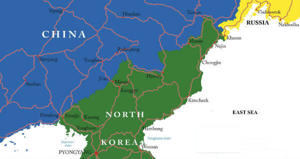 As US And China Find Common Ground On North Korea Is Russia The - Us Trying To Find North Korea On Map